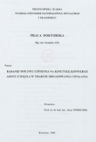 Doctoral thesis on spa