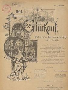 Inhalts-Verzeichnis zum 31.- 40. Jahrgang (1895-1904)