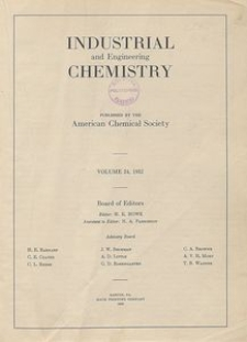 Industrial and Engineering Chemistry : industrial edition, Vol. 24, No. 1