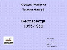 Retrospekcja 1955-1956