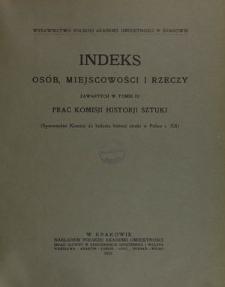 Prace Komisji Historji Sztuki, T. 4