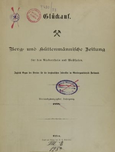 Glückauf, Jg. 74, [Indeks, nr 1-26]
