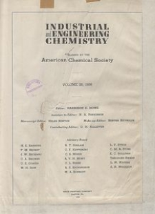 Industrial and Engineering Chemistry : industrial edition, Vol. 28, Author Index