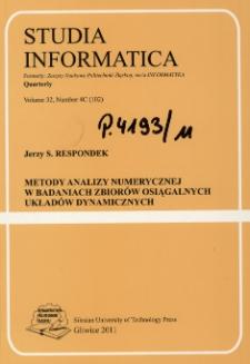Metody analizy numerycznej w badaniach zbiorów osiągalnych układów dynamicznych