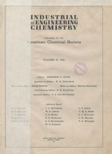 Industrial and Engineering Chemistry : industrial edition, Vol. 38, No. 1