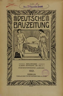 Deutsche Bauzeitung, Jg. 68, H. 21