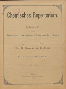 Chemisches Repertorium, Jg. 20, No. 17