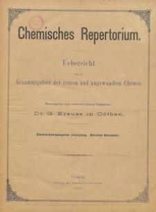 Chemisches Repertorium, Jg. 22, No. 22