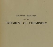 Annual Reports on the Progress of Chemistry for 1943, Vol. 40, Index of subjects
