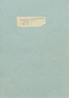 Dokumentacja techniczno - ruchowa MERA. Tom I. Część 1 - Formularz techniczny. Część 2 - Lista kompletności do formularza technicznego.