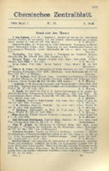Chemisches Zentralblatt : vollständiges Repertorium für alle Zweige der reinen und angewandten Chemie, Jg. 105, Bd. 1, Nr. 23