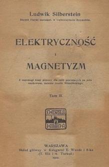 Elektryczność i magnetyzm. T. 2