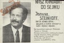 Nasz kandydat do Sejmu - Janusz Steinhoff