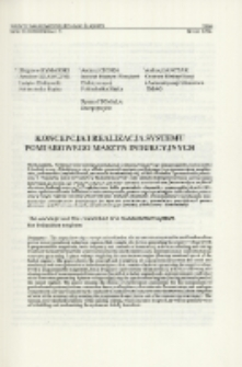 Koncepcja i realizacja systemu pomiarowego maszyn indukcyjnych