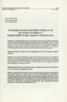 Wykorzystanie metody symulacji do oceny pokrycia uszkodzeń w układach cyfrowych