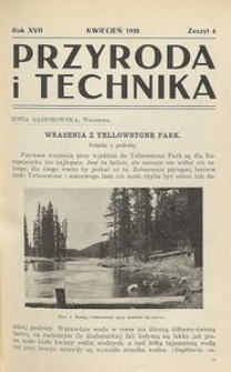 Przyroda i Technika, R. 17, Z. 4
