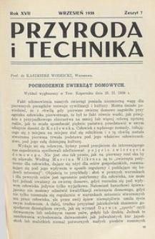 Przyroda i Technika, R. 17, Z. 7