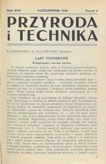 Przyroda i Technika, R. 17, Z. 8
