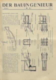 Der Bauingenieur : Zeitschrift für das gesamte Bauwesen, Jg. 7, Heft 31