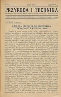 Przyroda i Technika, R. 13, Z. 5