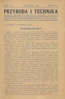 Przyroda i Technika, R. 13, Z. 6