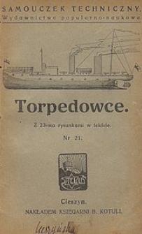 Torpedowce : z 23-ma rysunkami w tekście