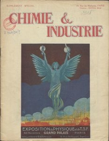 Chimie et Industrie. Vol 11. Supplement Special