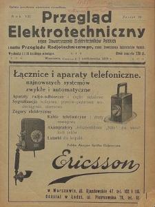 Przegląd Elektrotechniczny, R. 16, Z. 7