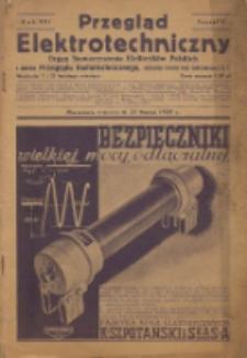 Przegląd Elektrotechniczny, R. 21, Z. 6