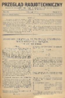 Przegląd Radjotechniczny, R. 8, Z. 3-4