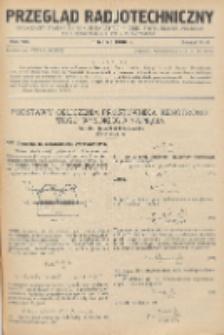 Przegląd Radjotechniczny, R. 8, Z. 5-6