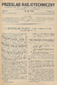 Przegląd Radjotechniczny, R. 8, Z. 7-8