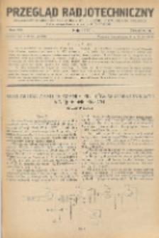 Przegląd Radjotechniczny, R. 8, Z. 9-10
