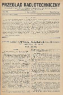 Przegląd Radjotechniczny, R. 8, Z. 11-12