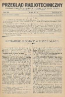 Przegląd Radjotechniczny, R. 8, Z. 13-14