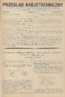 Przegląd Radjotechniczny, R. 8, Z. 15-16