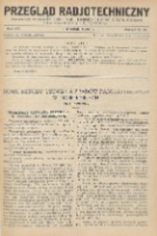 Przegląd Radjotechniczny, R. 8, Z. 17-18