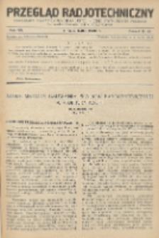 Przegląd Radjotechniczny, R. 8, Z. 19-20