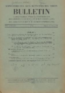 Bulletin des Schweizerischen Elektrotechnischen Vereins, Jg. 22, No. 4