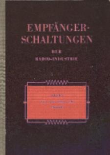 Empfänger-Schaltungen der Radio-Industrie, Bd. 1