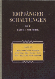 Empfänger-Schaltungen der Radio-Industrie, Bd. 2