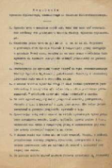 Regulamin egzaminu dyplomowego, klauzurowego na Oddziale Elektrotechnicznym