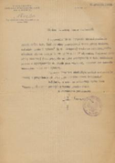 List do profesora Stanisława Fryze