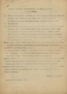 Program wykładów z Elektrotechniki dla Wydziału Inżynierji r. n. 1940/41
