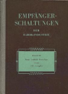 Empfänger-Schaltungen der Radio-Industrie, Bd. 4