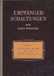 Empfänger-Schaltungen der Radio-Industrie, Bd. 5