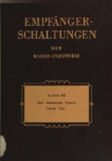 Empfänger-Schaltungen der Radio-Industrie, Bd. 7