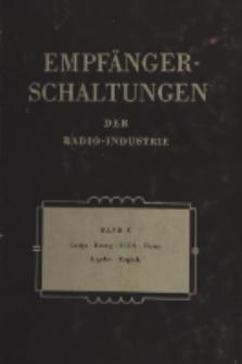 Empfänger-Schaltungen der Radio-Industrie, Bd. 10, Schaltungen österreichischer Geräte