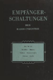 Empfänger-Schaltungen der Radio-Industrie, Bd. 11, Schaltungen österreichischer Geräte