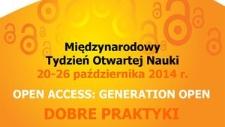 Międzynarodowy Tydzień Otwartej Nauki, 20-26 października 2014 r.